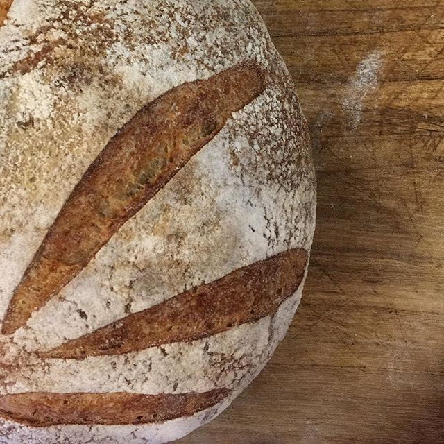 fresh bread and good coffee makes for a perfect weekend. $1/slice, now until we run out - swing by!