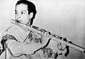 Pandit Gour Goswami  (1922-1976)- guru of my guru (Pandit Gopal Roy).  Gour Goswami was a disciple of Pannalal Ghosh