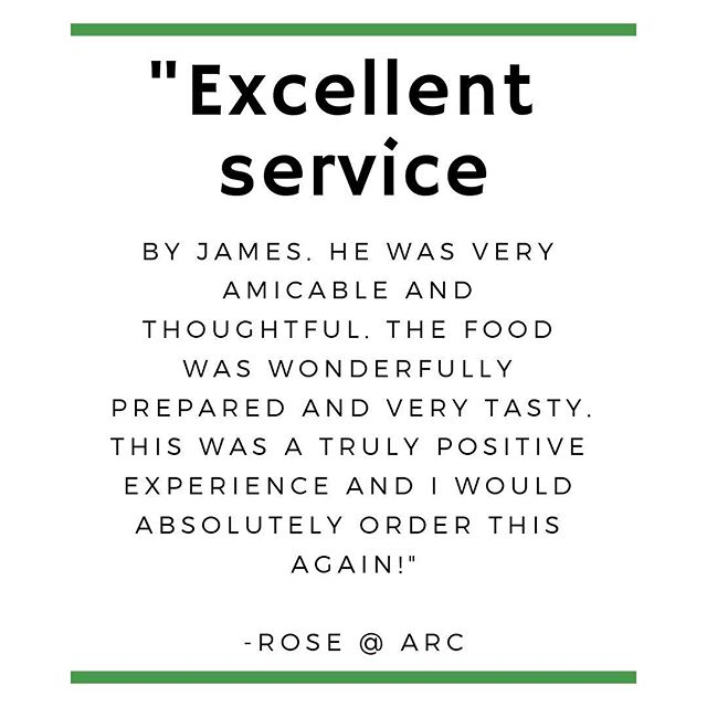 ✉️Feedback Friday! • It is extremely important to us that our customers not only feel good about the food we serve them, but also how we serve them. That's why it brings us such joy to hear feedback like this. Thank you, Rose. • What has your experience with @perillasfood been like? We'd love to hear from you!