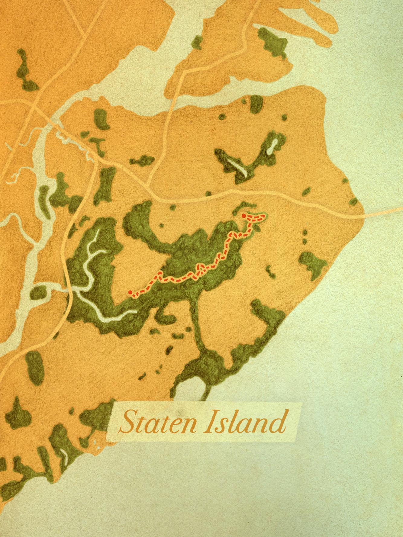 Yellow Trail of the Staten Island Greenbelt (Staten Island)
