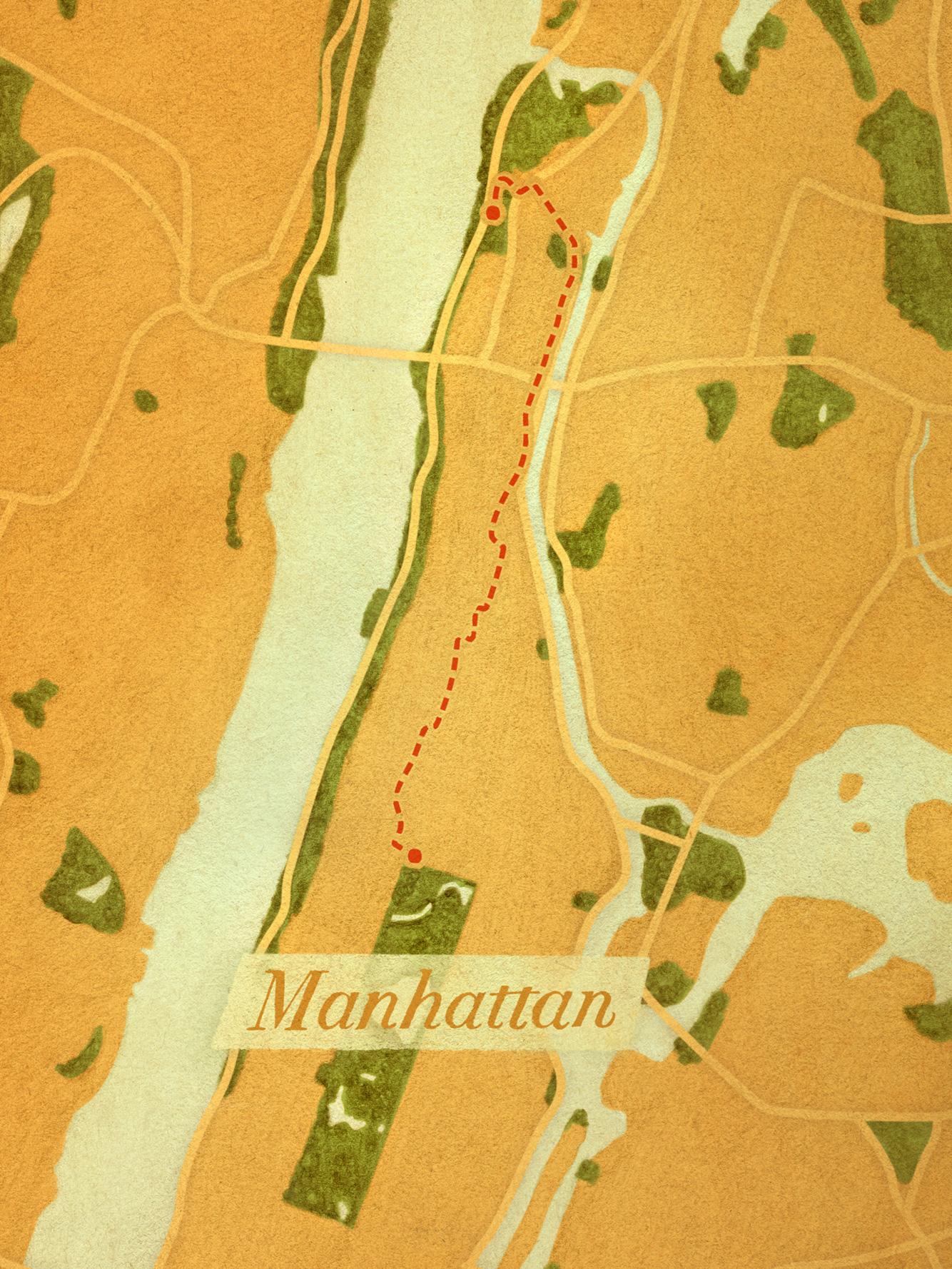 The Giraffe Path (Manhattan)