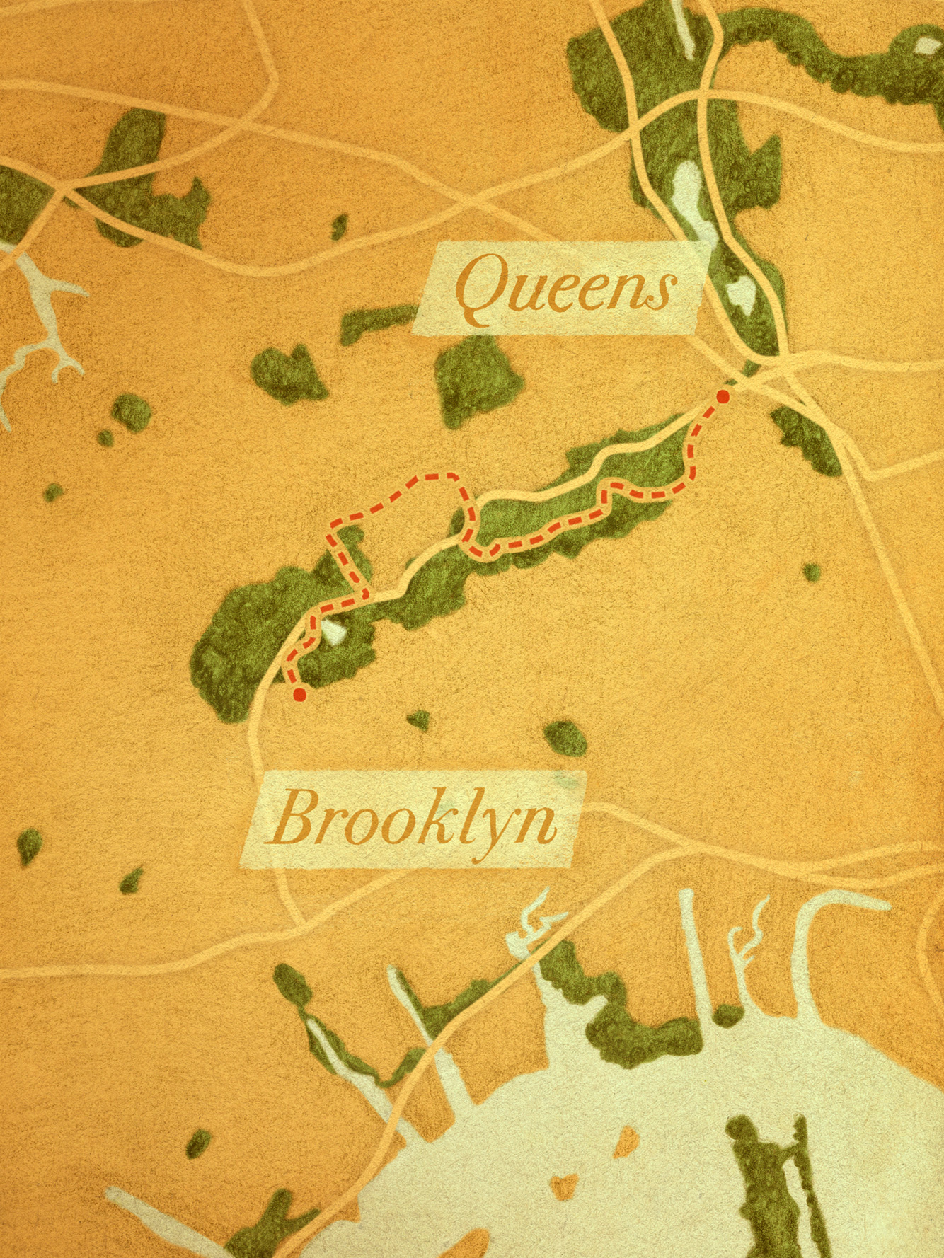 Highland Park to Forest Park Trail (Brooklyn/Queens)