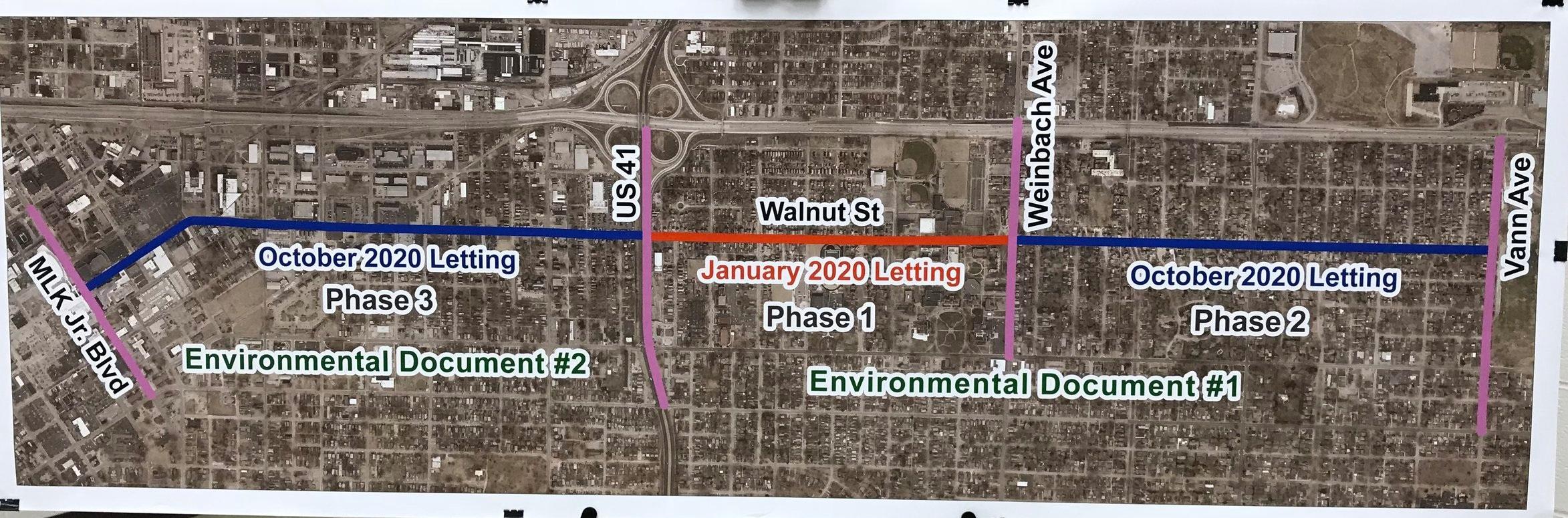 Proposed Walnut Street Project Plan