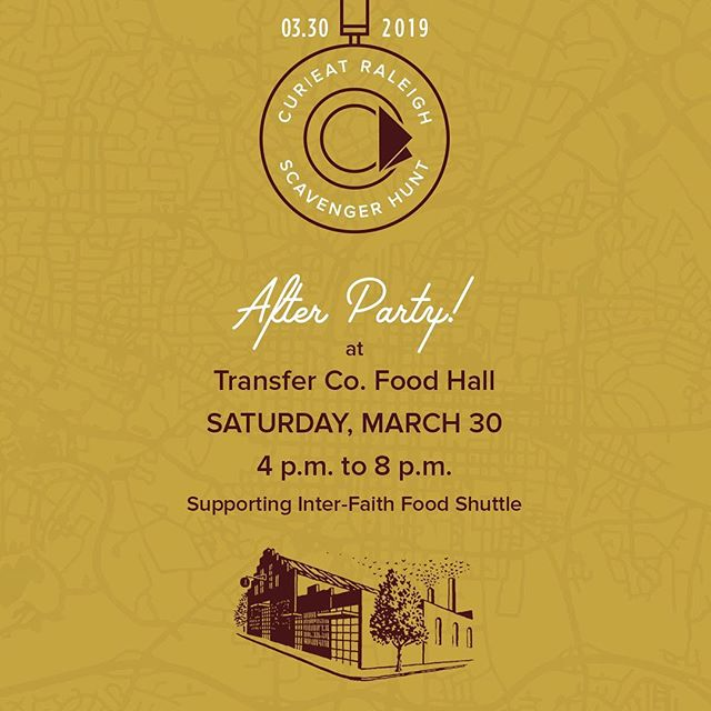 @jamesdayv and the Brothers Egg band are excited to play the @cureatapp scavenger hunt after party in Raleigh, NC on Saturday, 3/30! The party will be raising funds to support Raleigh's interfaith @foodshuttle: a non-profit we wholeheartedly support and have volunteered with in the past. The food shuttle program helps feed, teach and connect families with nutritious food, and educational  recourses regarding food systems, sustainable farming, and nutrition.  We hope that you will join us for an evening of music and delicious eats and drinks from @samjonesbbq @longleafswinebbq @stemciders !! Link to tix in bio.