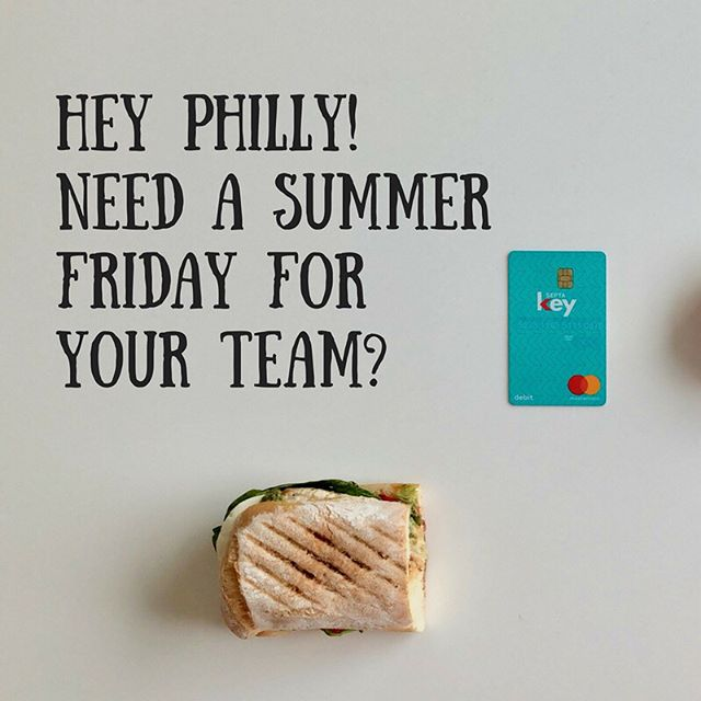 Hey Philly! We're on a mission to give your people A BREAK. And we're here to do the heavy lifting. Learn more about Summer Fridays with Co-Create - link in bio. What are you waiting for? Treat yo' team!. . . . #philly #summerfridays #makegoodcompany #treatyoteam #treatyoself #summer #teambuilding #teamoffsites #tgif