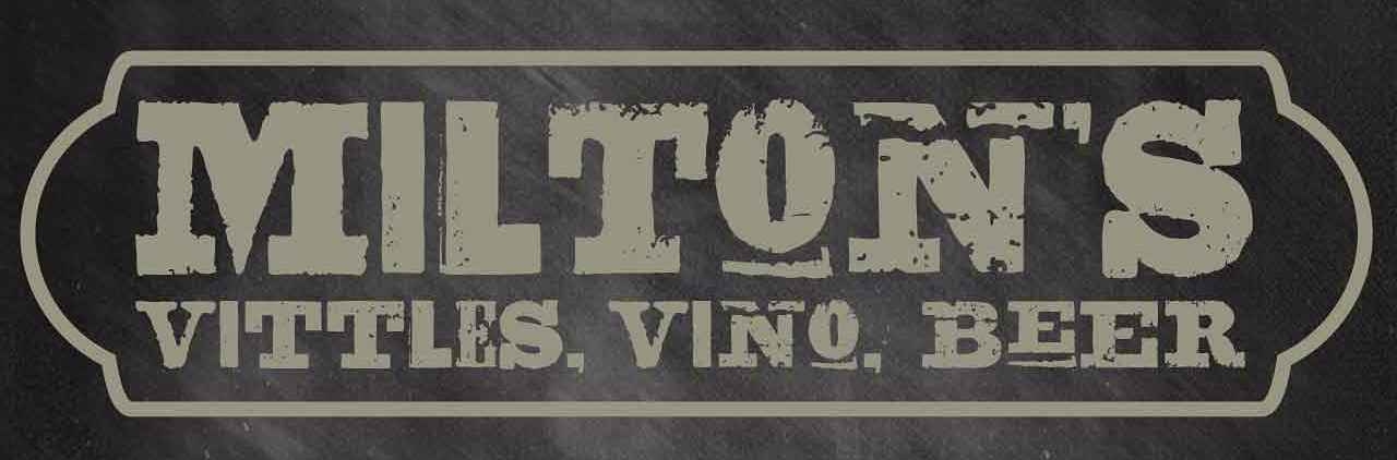 Milton's Vittles, Vino, Beer