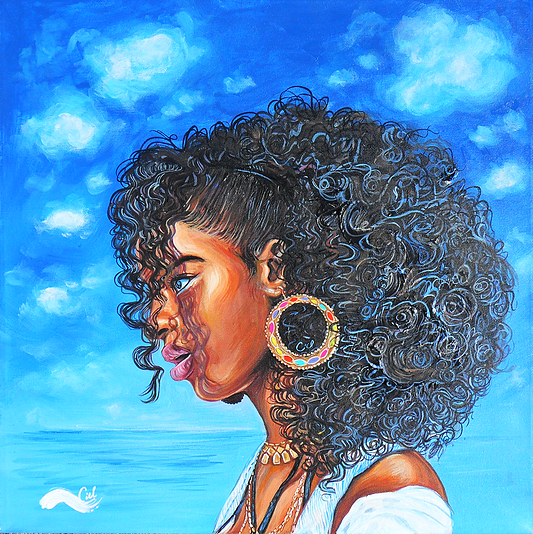"""""""Her Name Is Sky"""" inspired by Drake's album cover"""