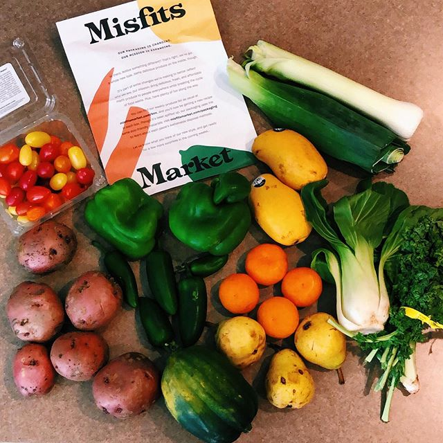 "did you know that over $1 trillion of food is wasted each year due to not meeting ""beauty"" standards for fruits and vegetables to be sold in grocery stores and markets? — crazy right?! .  DARLA was recently introduced to philly-based ugly produce brand, @misfitsmarket — a company on a mission to create a waste-free world by rescuing ""ugly"" fruits and vegetables and making them accessible and affordable for all by delivering directly to consumers' home! .  we discuss all things #misfitsmarket in our latest featured article, from how the company employs previously incarcerated men + women to details on each type of produce box available 🌱🥕🥬🥔🍆🥦🥒 .  try out @misfitsmarket with code DARLA20 to save 20% on your first order! link in bio to the full projectDARLA.com article 💫"