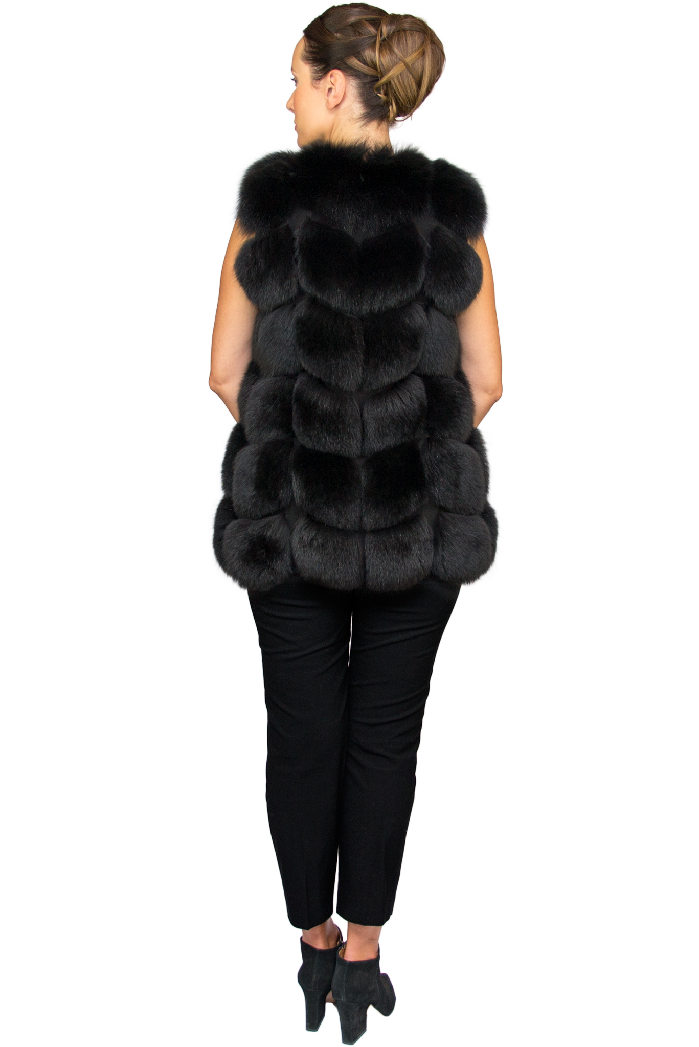 Noura Black Short - Back.jpg
