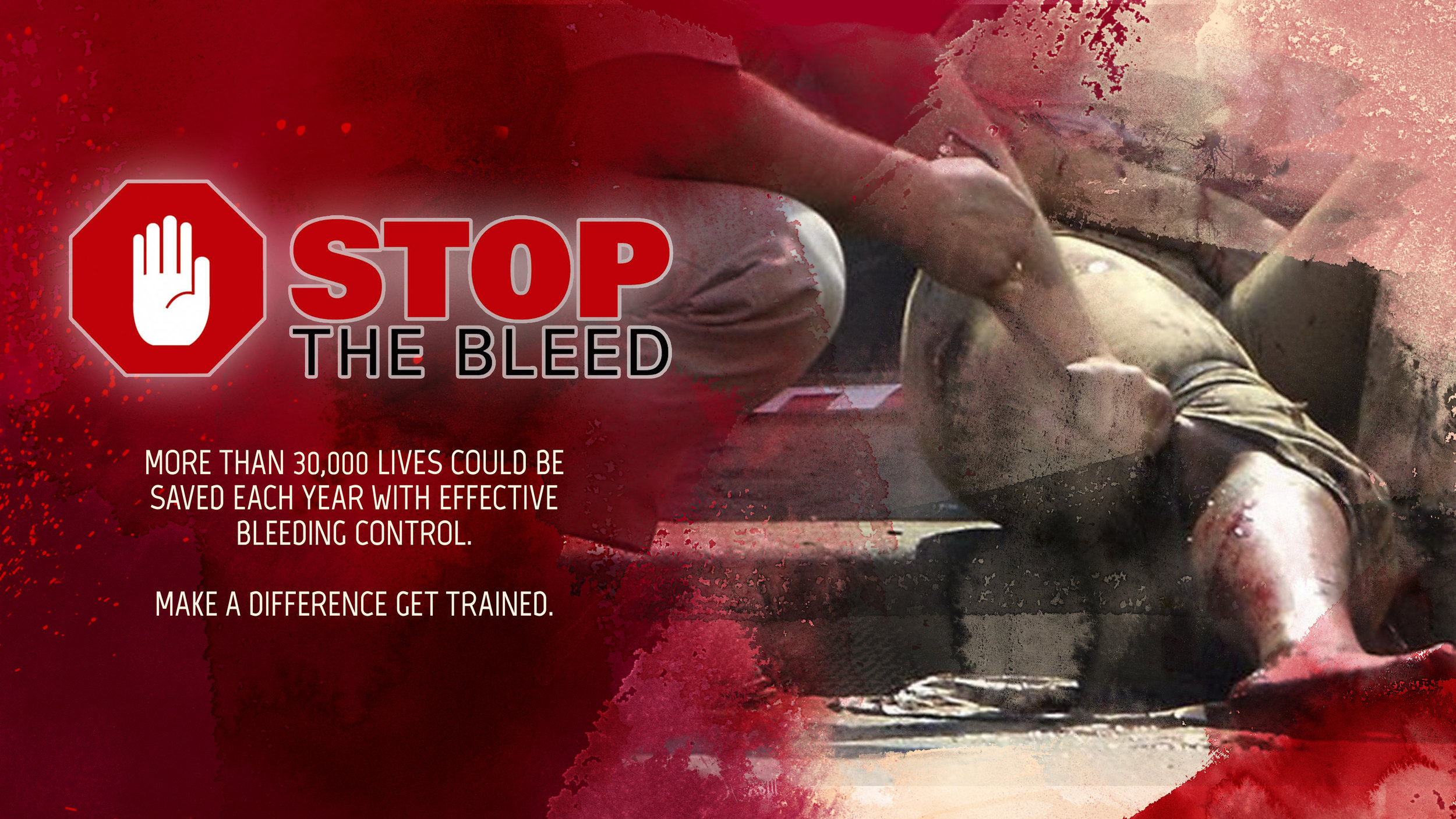 Saturday September 28th 10am - 11:30am - Filling the form out below will register you for the Stop The Bleed class on Saturday January 26th. Please fill out a form for each person. There is a limit of 30 participants for the class.