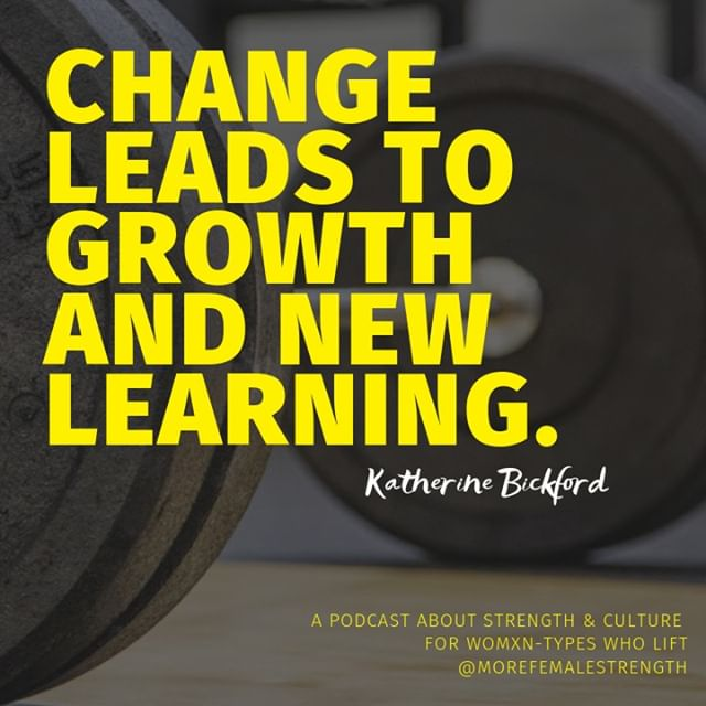 We're excited to be back on the airwaves. Our latest podcast episode touches on changes that have lead to growth and new learning. We expect this to happen often, and only hope we continue to build on everything that came before.⠀⠀⠀⠀⠀⠀⠀⠀⠀ *⠀⠀⠀⠀⠀⠀⠀⠀⠀ Thanks for your continuous support! We'd love to hear what you have changed over the last few years and how that has helped you grow. Share your thoughts with us in the comments!⠀⠀⠀⠀⠀⠀⠀⠀⠀ *⠀⠀⠀⠀⠀⠀⠀⠀⠀ #morefemalestrength #getloudandtakeupspace #growandchange #strengthforall