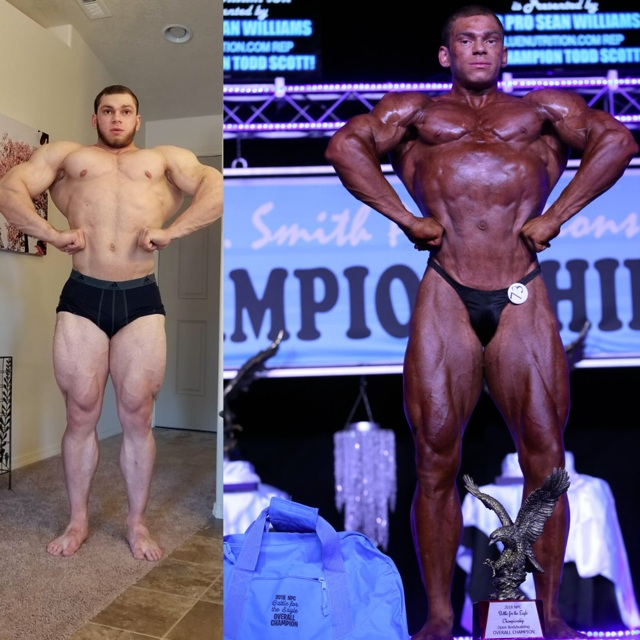 """Anthony G - """"What is the most important thing to look for when picking a coach? For me it's the ability to recognize an individual's potential, and then push them to achieve it! Moeller LBC did just that for me! When I initially reached out to him with the idea of competing in my first bodybuilding show I immediately felt the excitement coming from that side. It was definitely enough to get me excited feeling as well! My experience with Moeller LBC was a no BS approach with a totally individualized plan! When my prep got tough I was reminded that it shouldn't be easy but it will be worth it! With that mentality I was able to win the overall in my very first show! The results speak for themself and ultimately I walked away 100% satisfied with the outcome and the work Moeller LBC did for me!"""""""