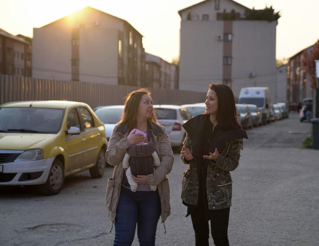 """Interview mit Ruxandra Palade für die Dokumentation """"Geburtslotterie"""""""