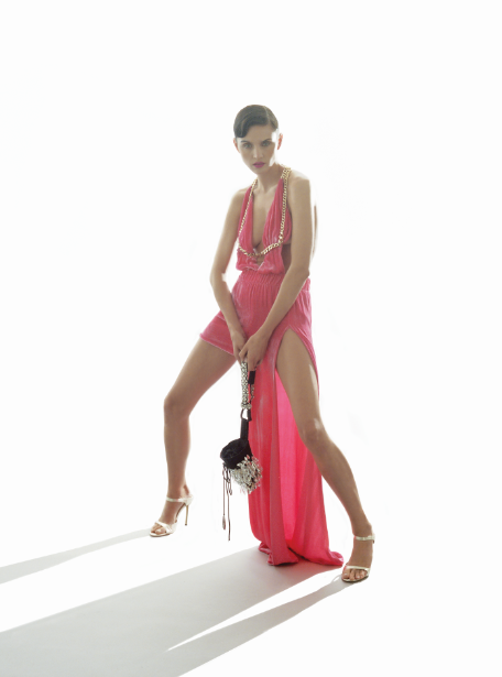 dress  Shiori Suzuki  chalk bag  Patrick McDowell  shoes  Jessica Beecham
