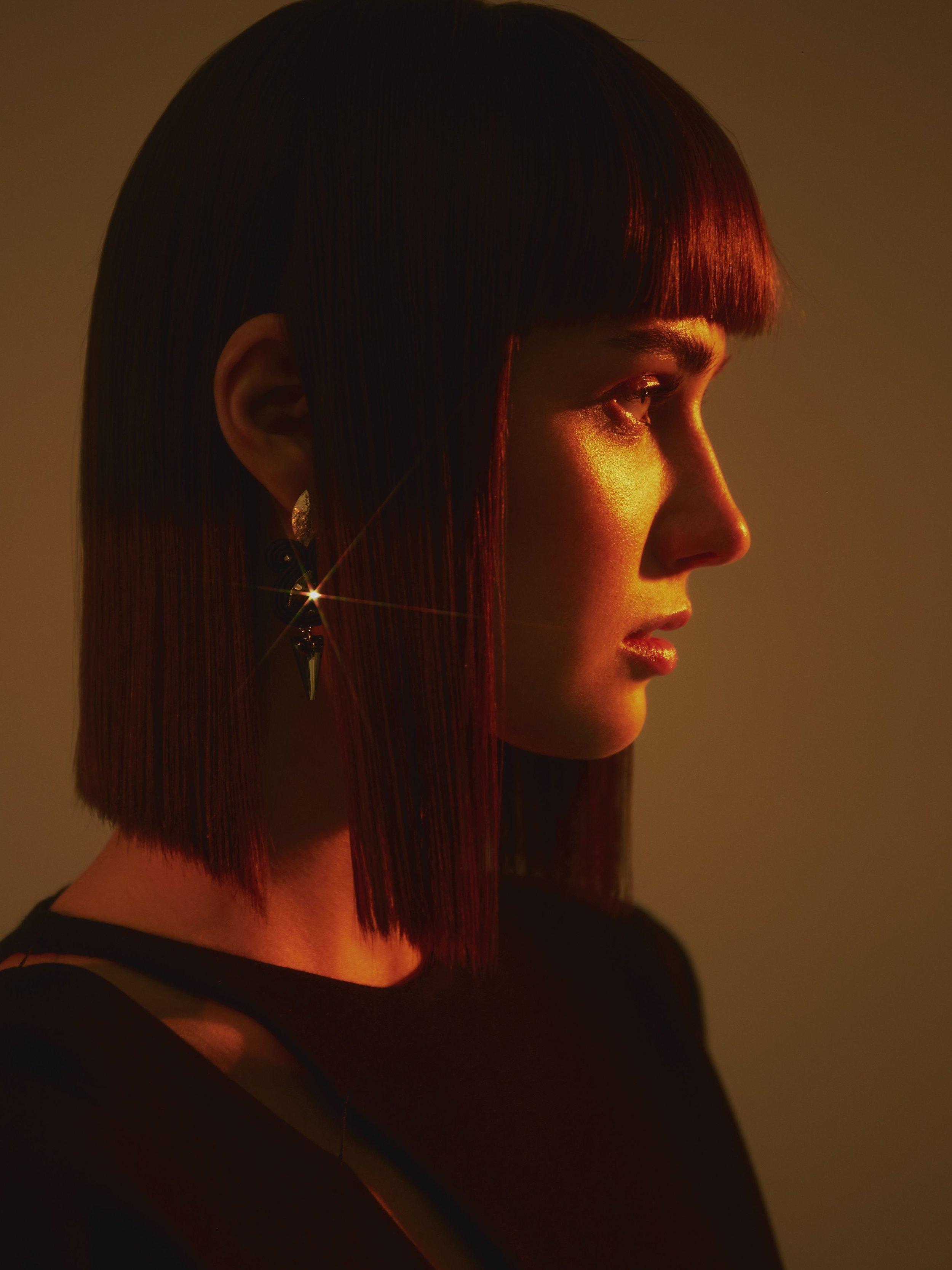 dress  GUY LAROCHE  earrings  GUILLORY
