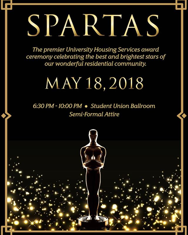 This year's SPARTAS will be bigger and better! 🏆✨ #SPARTAS #SJSU