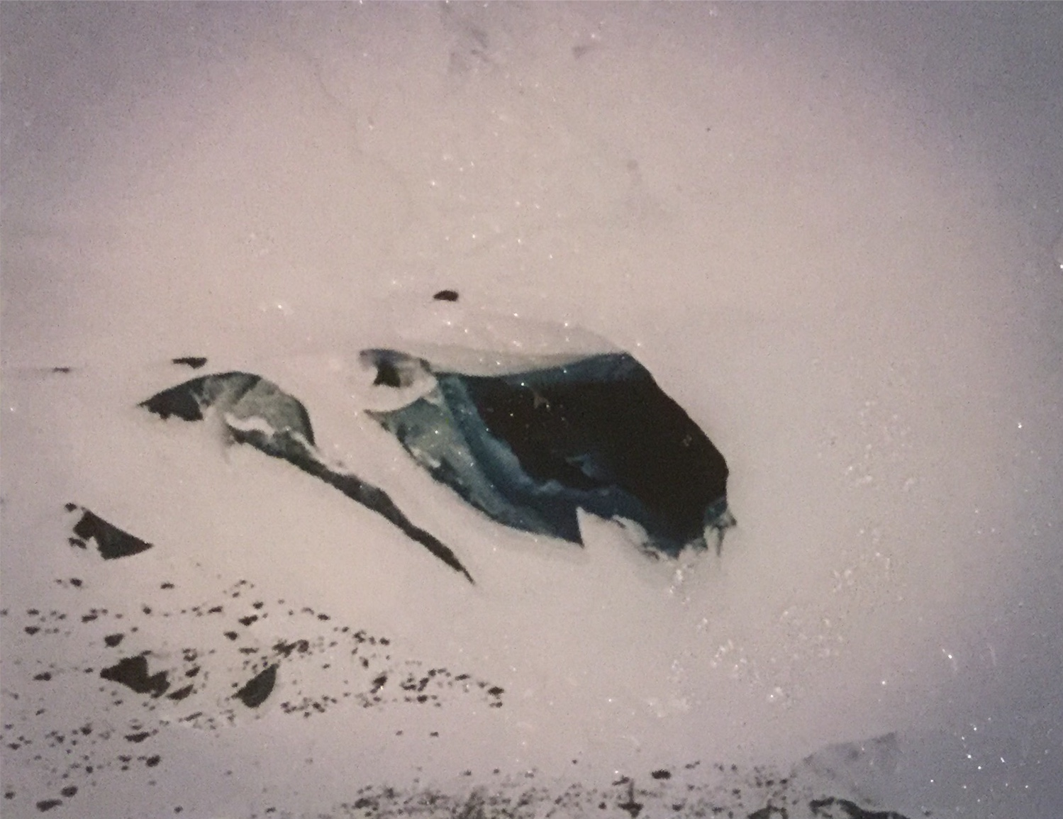 Our hole in the ice.