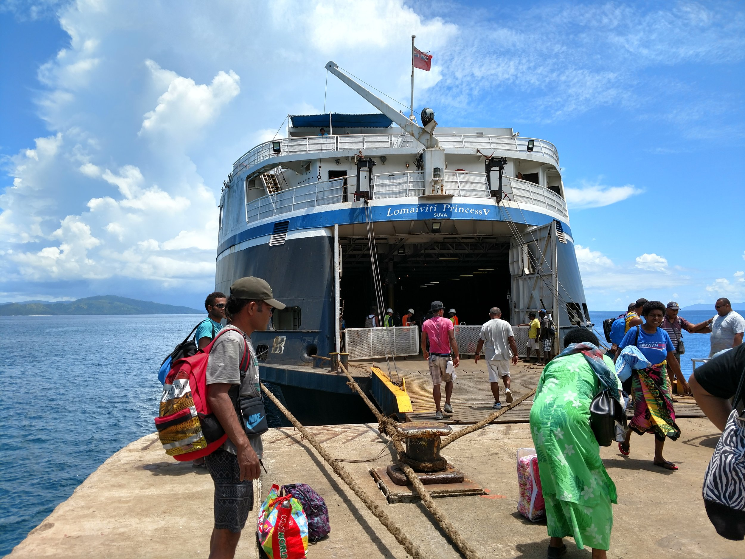 Goundar Shipping Boat