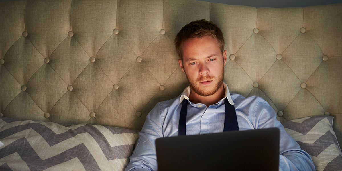 Checking email at night hurts team morale