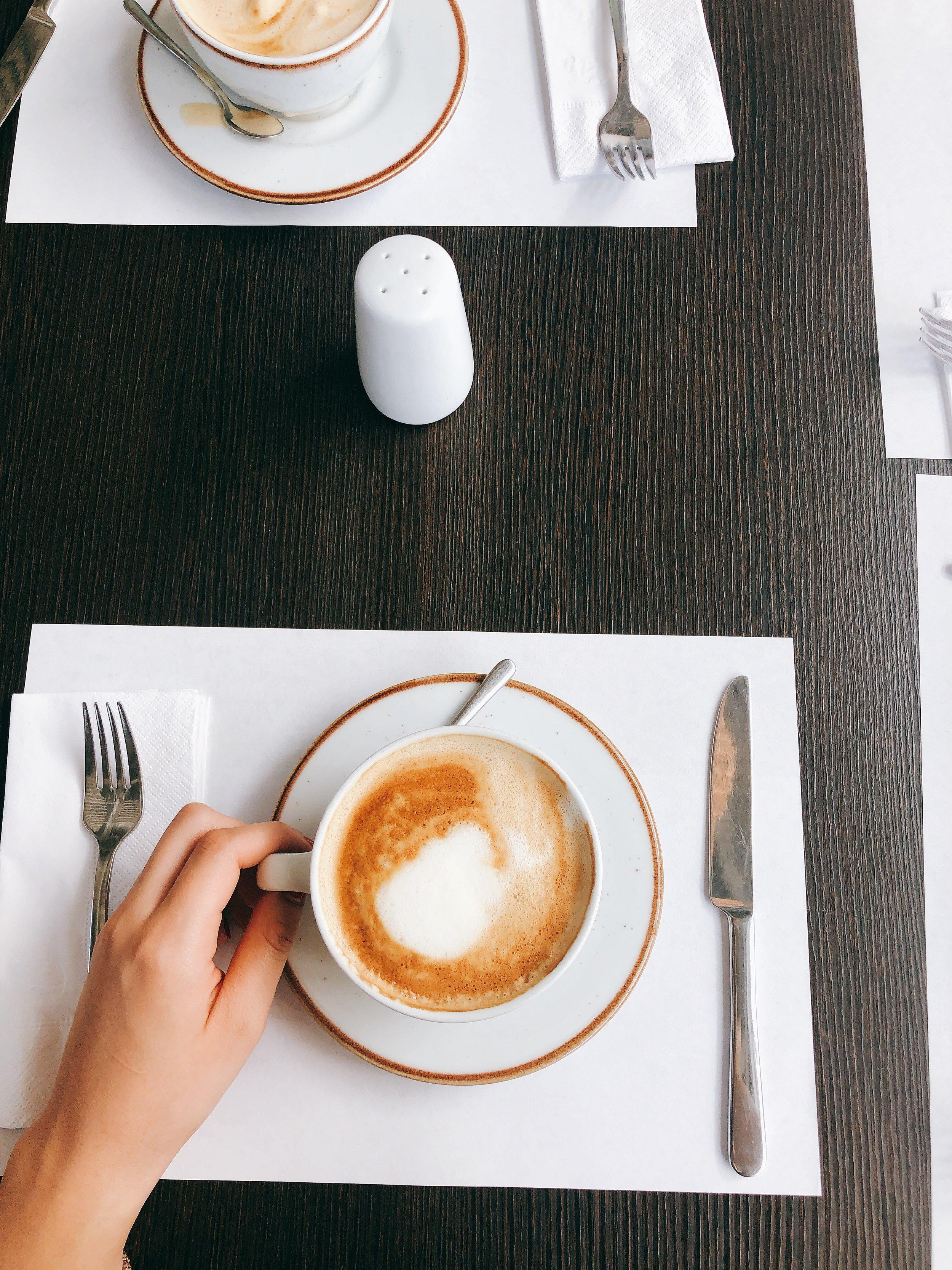 Almond Soy Latte - Colombia Trip