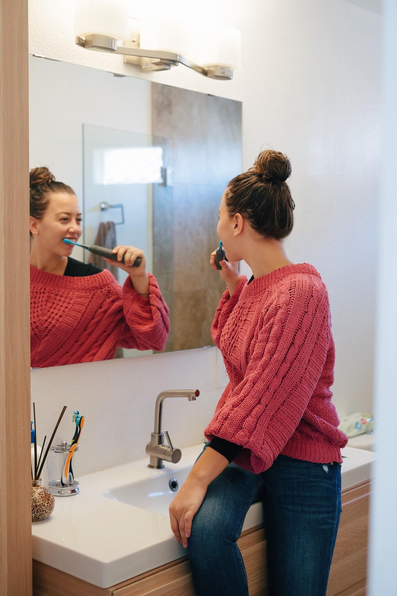 CariPRO Ultrasonic Electronic Toothbrush