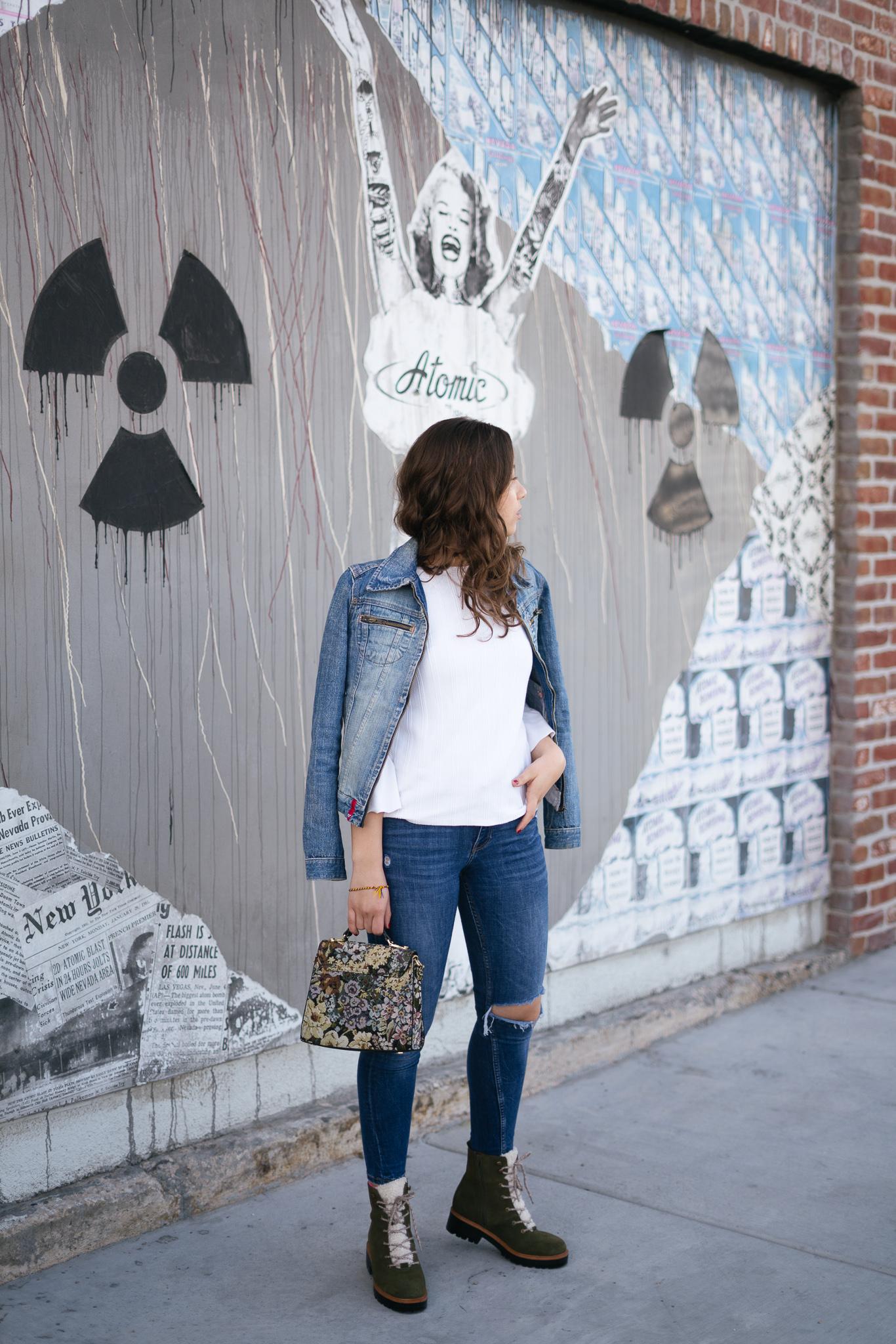 Denim on Denim Spring Outfit