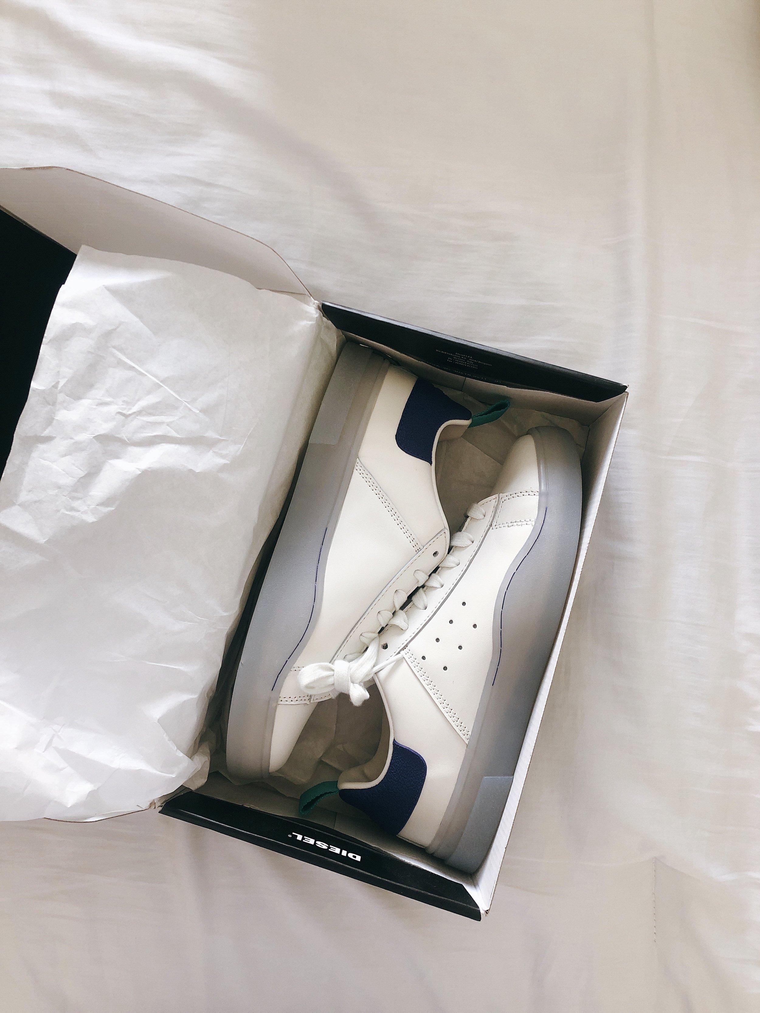Diesel White Sneakers