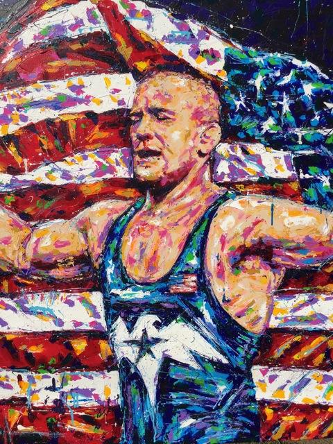 The Wrestler, USA Golden Boy
