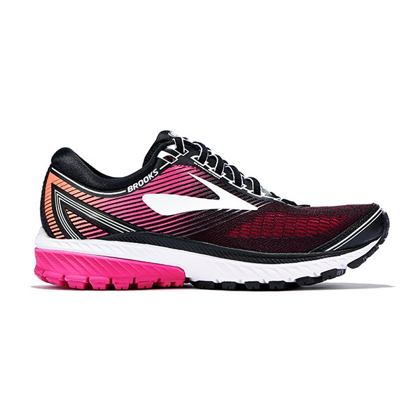 Brooks Ghost 10-Black/Red (PC: Google Images)