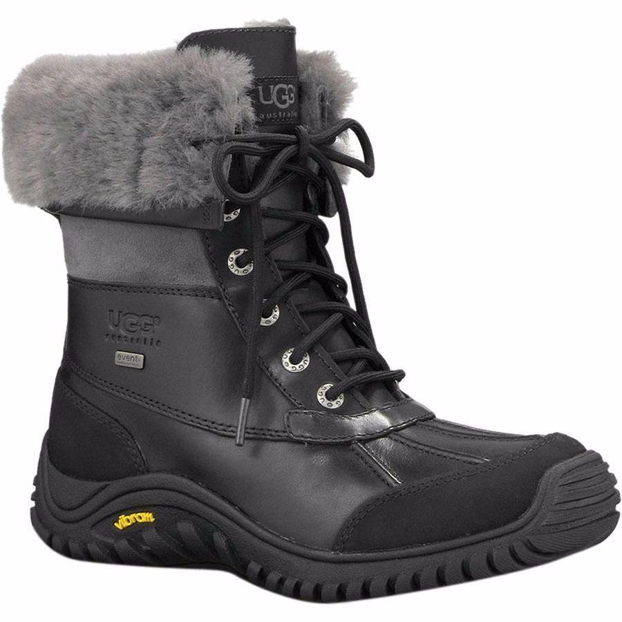 Ugg Adirondack Boot II - Black/Grey (PC: Ugg.com)