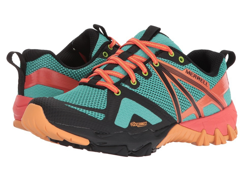 Merrell MQM Flex Women's Shoe - Fruit Punch (PC: Store.shoes.com)