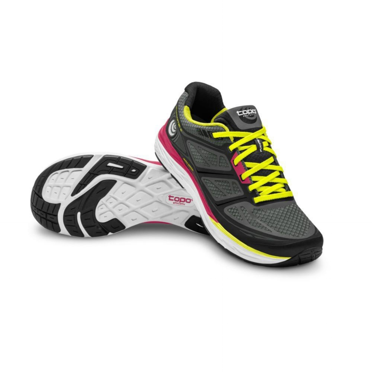 Topo Athletic Women's Fli-Lyte - Black/Yellow (PC: Topoathletic.com)