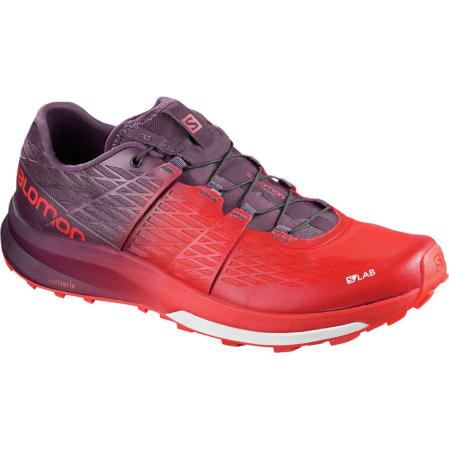 Salomon S-Lab Ultra Trail Running Shoe - Racing Red/Maverick/White (PC: Backcountry.com)