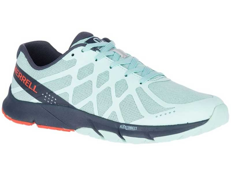 Merrell Bare Access Flex 2 - A neutral trainer featuring shock-absorbing cushioning foam for comfort and durability during high intensity activity.Uses: Training, Walking, Everyday
