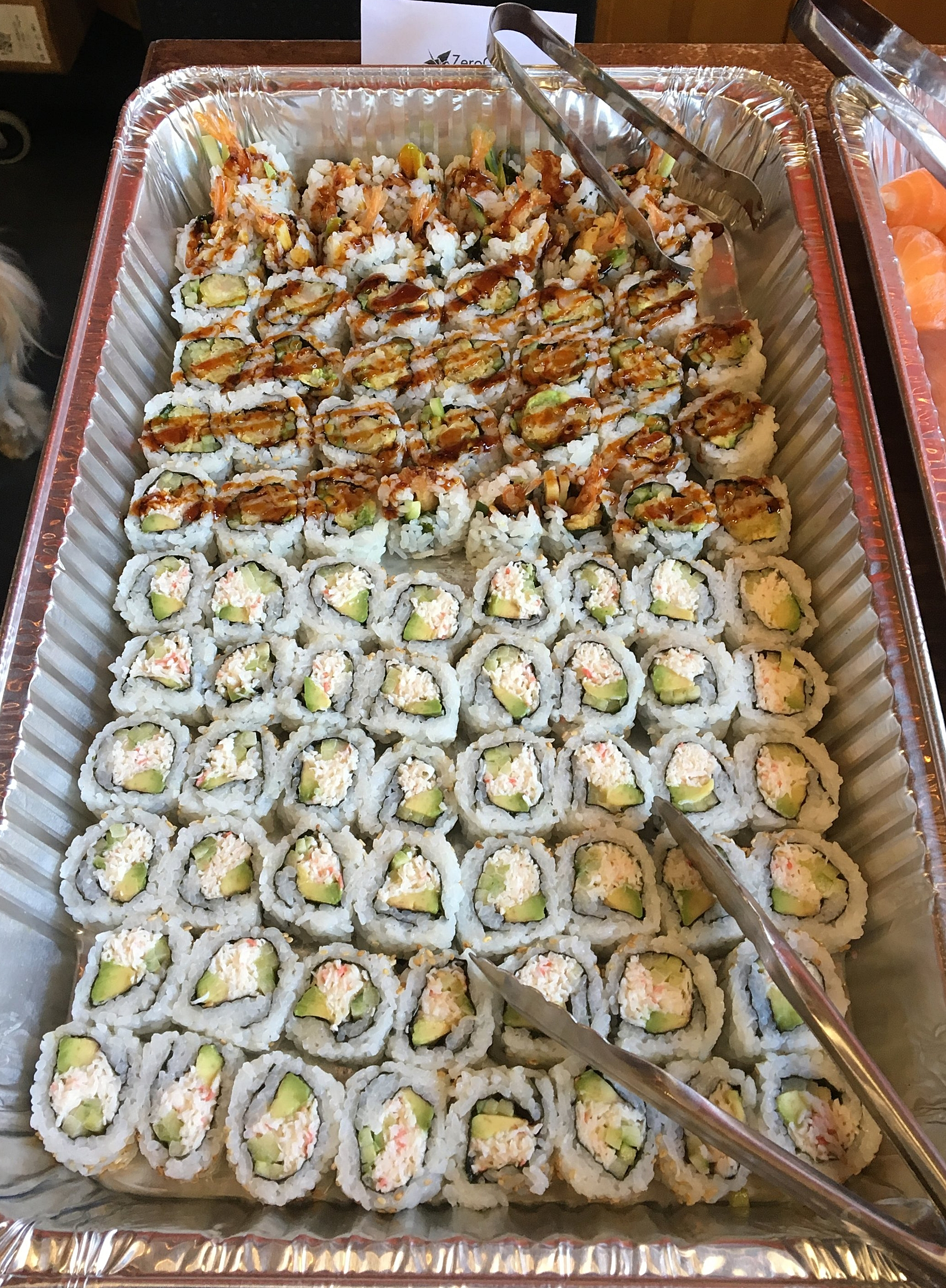 Ready to design your perfect sushi catering menu? - Contact Us today at (415) 655-9496