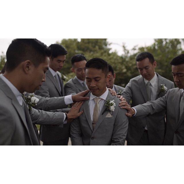 Never underestimate the power of prayer. New wedding film coming out very soon! . . . . . . THE TEAM:  Planner: @belovedcoordination  Venue: @peppertreeslo  Catering: @chefs_table_catering  Bar: @bottles.and.ice  DJ: @modernsymphonydj  Desserts: @leoleogelato  Photographer: @luan_chung . . . . . #weddingphotography #weddingphoto #weddingvideo #wildhairandhappyhearts #engaged #epiclovepic #intimatewedding #loveandwildhearts #bohowedding #wanderingphotographers #risingtidesociety #bohobride #candidphotography #weddingideas #radlovestories #engagementphotos #coloradoweddingphotographer #lookslikefilm #greenweddingshoes #radstorytellers #peoplecreatives #wedding #bride #groom #justengaged #shesaidyes #sanluisobispo #californiawedding