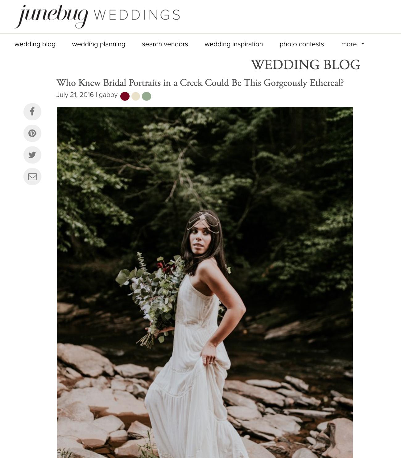 Junebug Weddings - Taluana Bridal Portraits