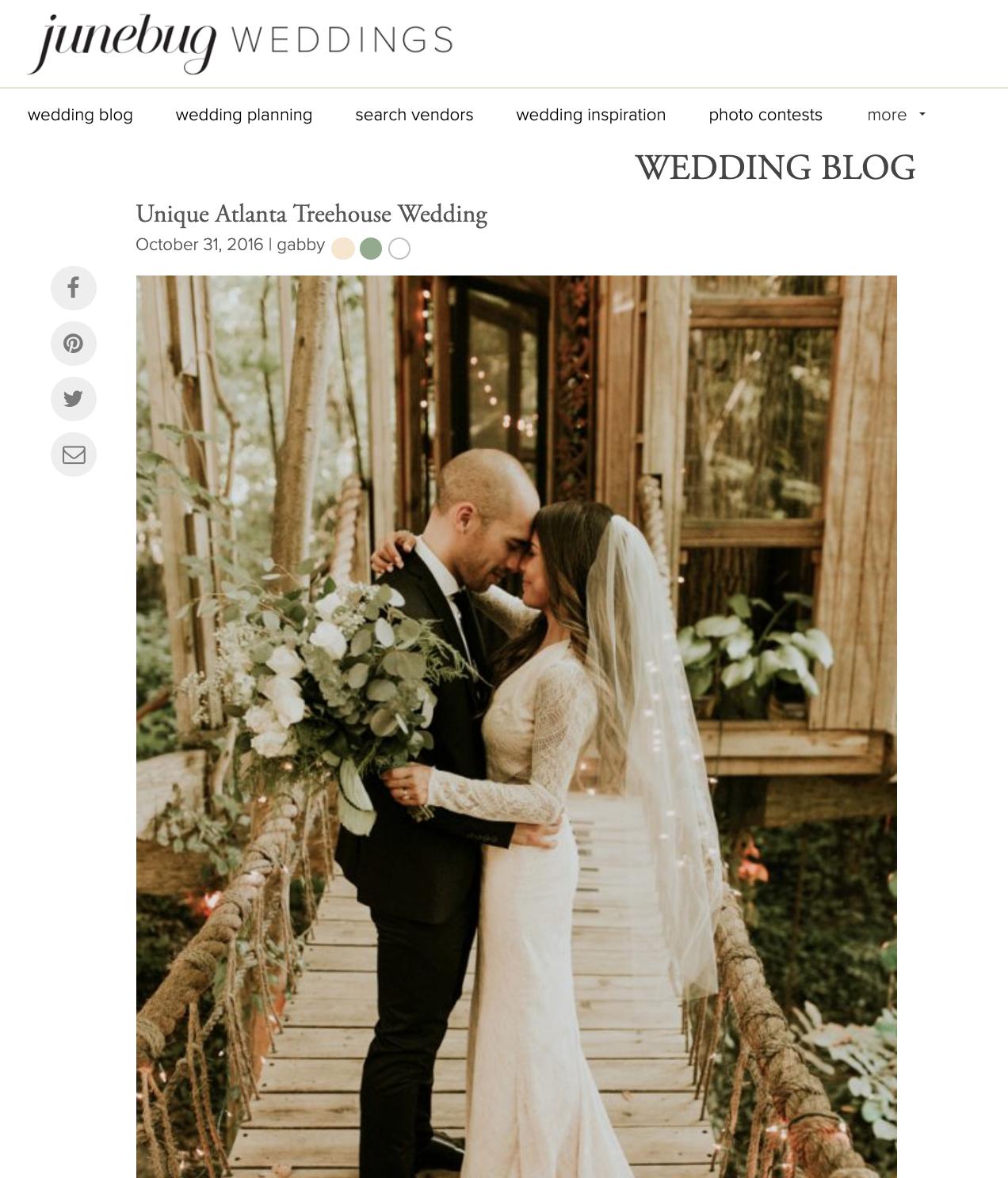 Junebug Weddings - Daiane + Steven
