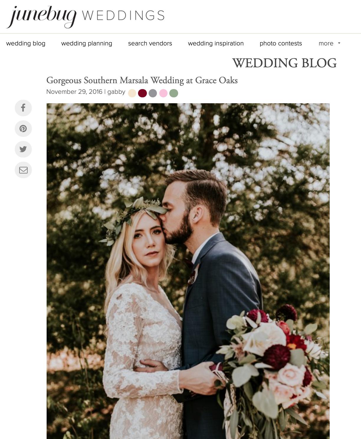Junebug Weddings - George + Jan