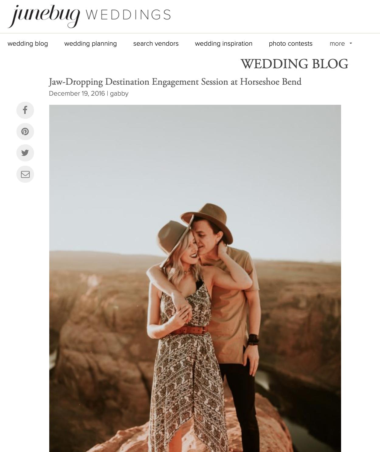 Junebug Weddings - Mckenzie + Ben
