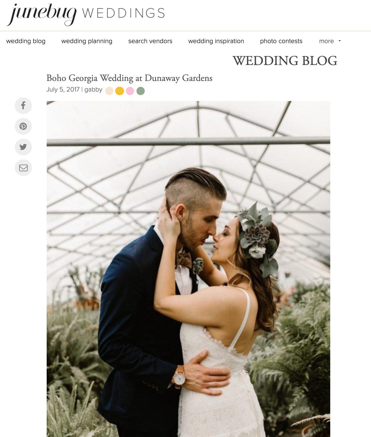 Junebug Weddings - Kristin + Brian