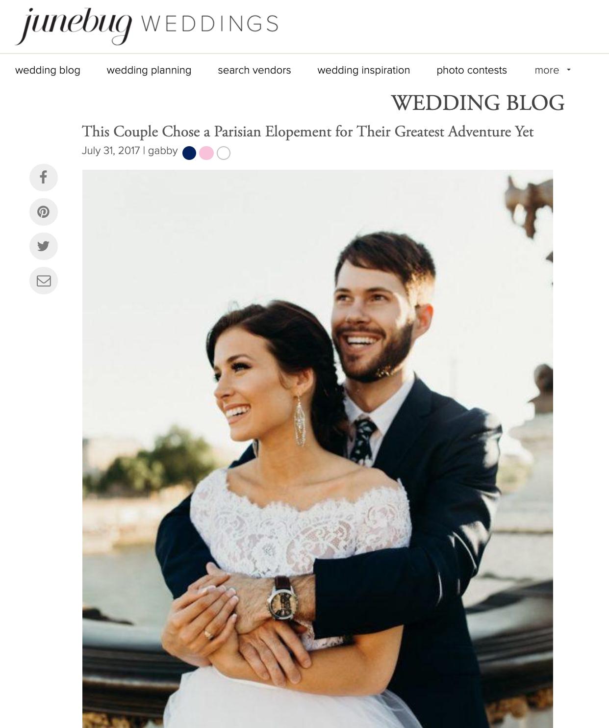 Junebug Weddings - Kelsey + Don