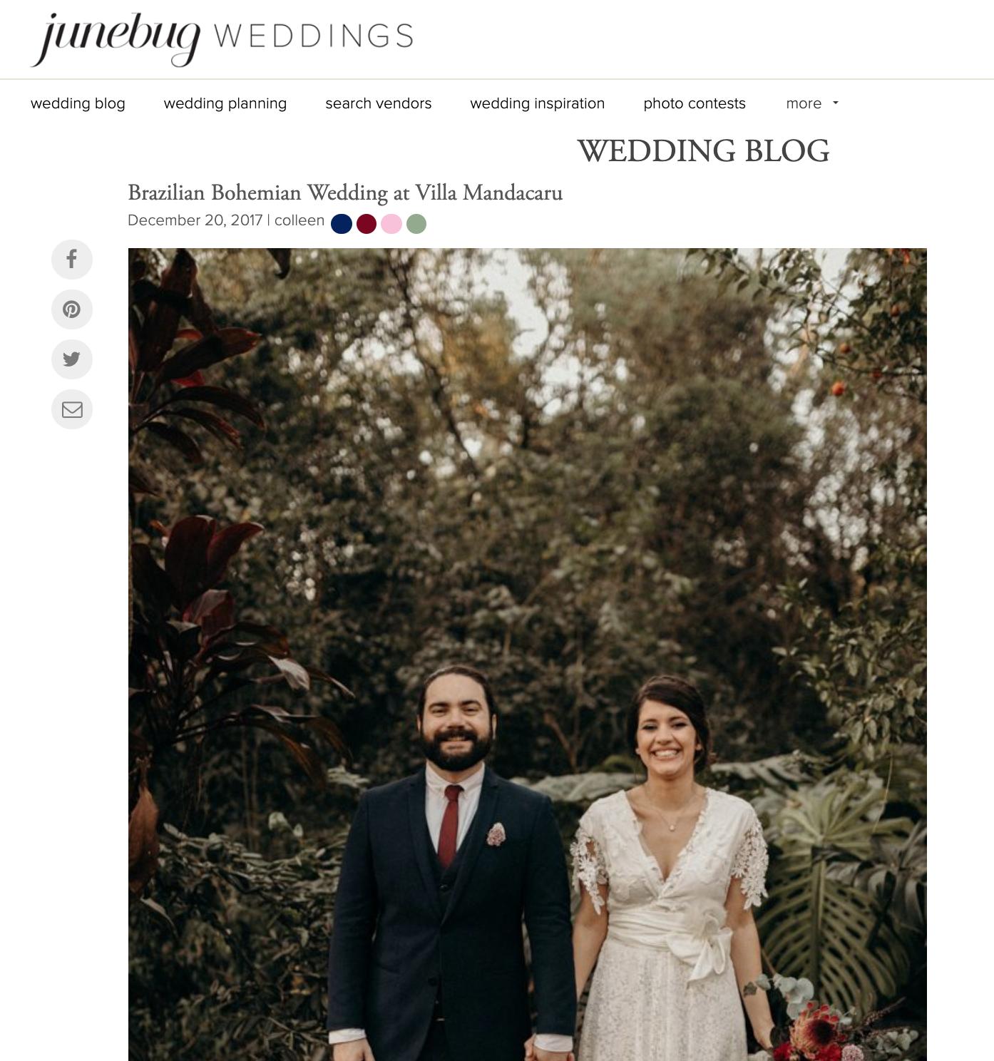 Junebug Weddings - Pedro + Mari