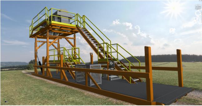 Garneau Industries Centrifuge Stands