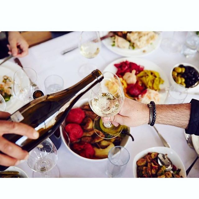 """Beyond being an ideal accompaniment for a meal, a bottle of wine can set the mood of a room."" Read more from Paul Hobbs about how working with Armenian wines and people has broadened his view of pairing wine with food ... link to the journal in our bio. 📷: @vyacoubian  #foodandwine #winepairing #armeniancuisine #settingthetable"