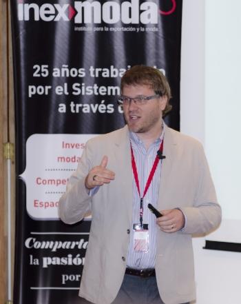 Keynote speaker, Inexmoda, Medellin, Colombia (2014)