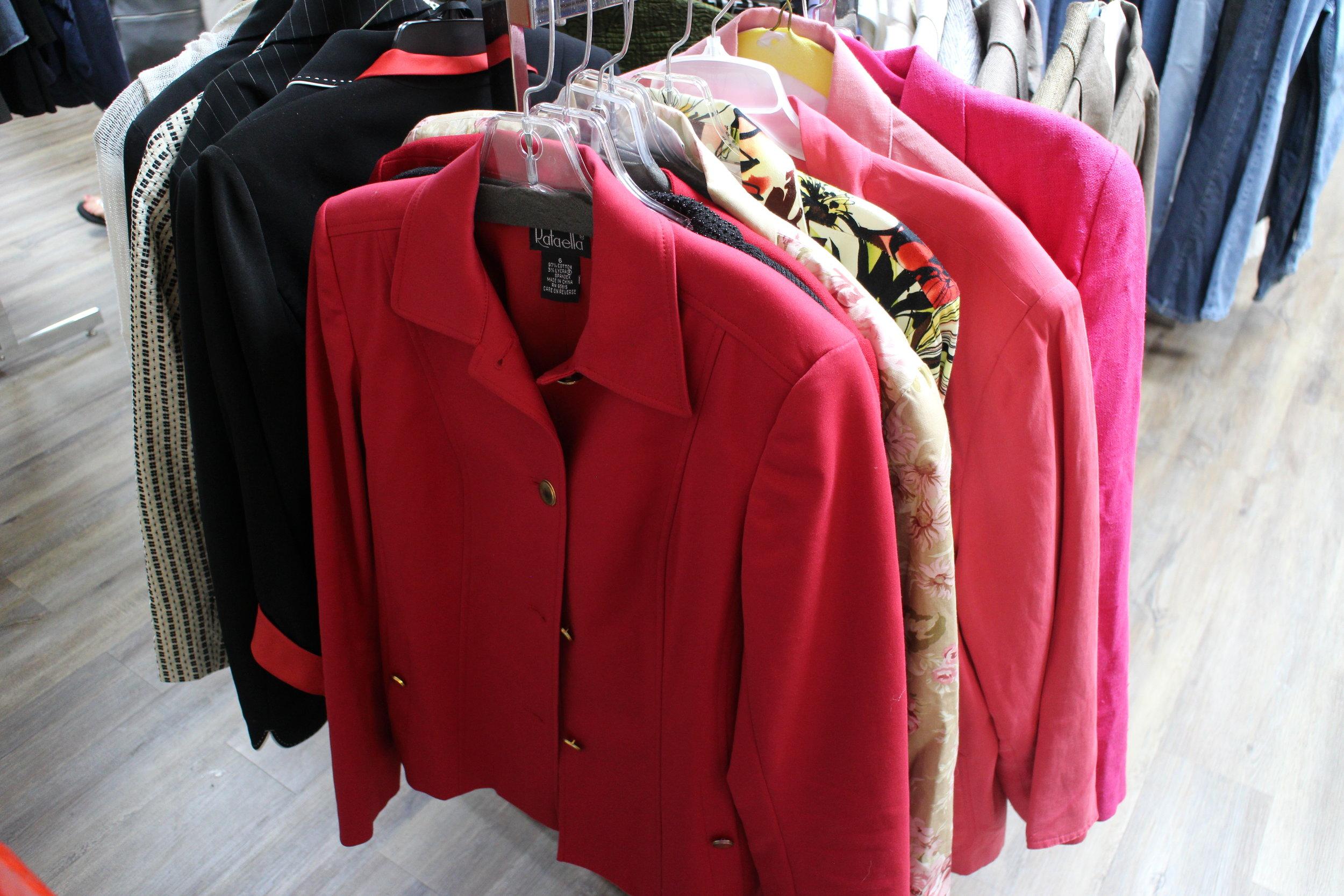 Thrift stores -