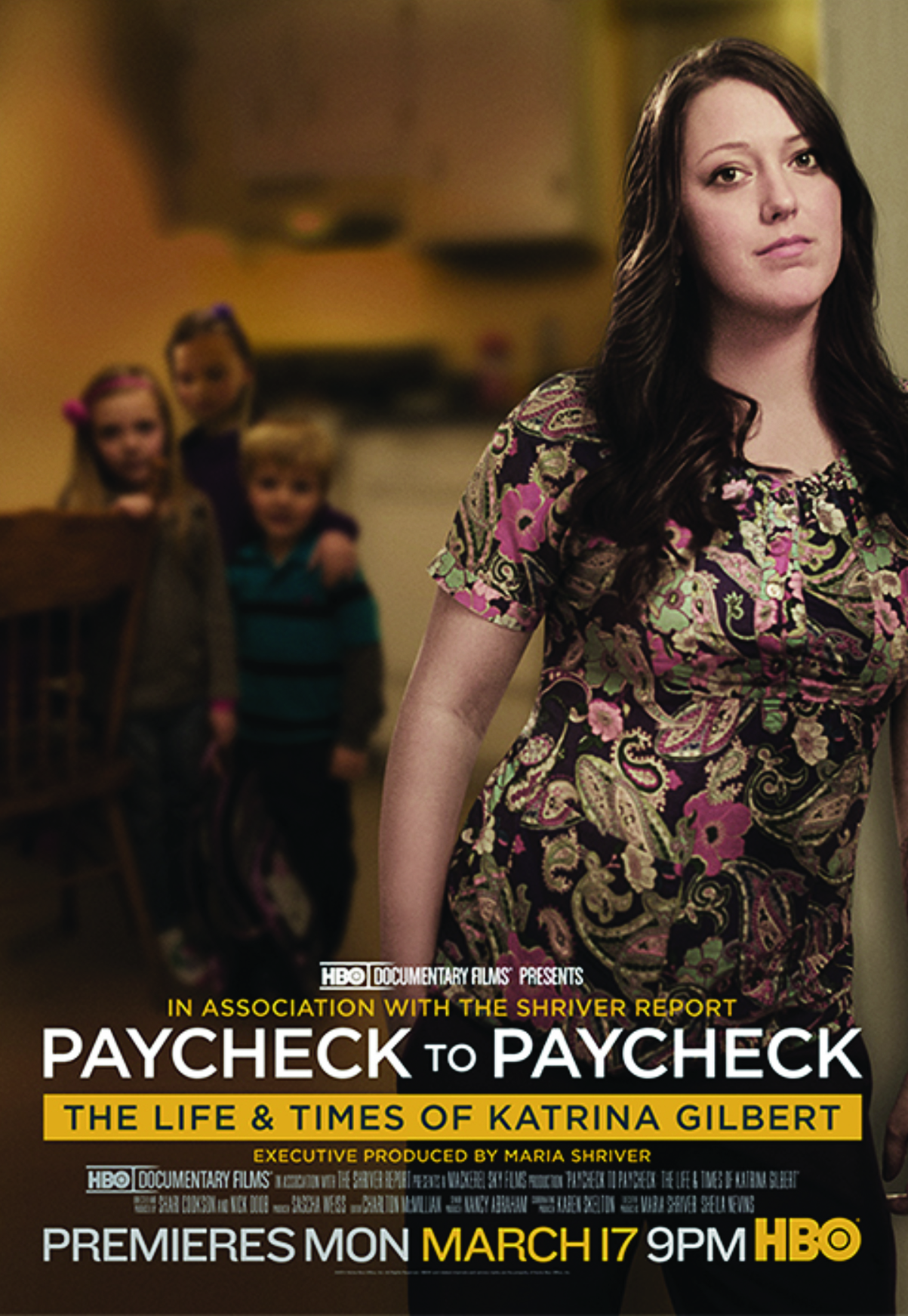 Paycheck to Paycheck: The Life & Times of Katrina Gilbert - This Emmy-winning HBO Documentary Film featuring local woman and Chambliss Center for Children parent Katrina Gilbert was released in March 2014. The film was produced in association with The Shriver Report: A Woman's Nation Pushes Back From the Brink and executive produced by Maria Shriver. Click HERE to see a short video about the documentary, or visit HBO.com to view the film in its entirety.