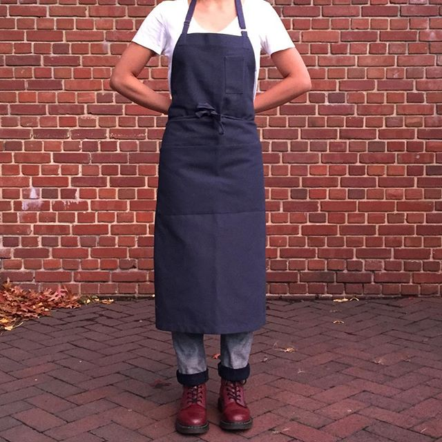 Out in the world. 👀 Find these chef aprons at Haven's Kitchen in Chelsea. While they last! #aprons #madeinnyc #camcam #camcamnyc