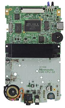 Game Boy Color motherboard. I see the LR35902!